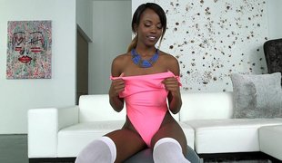 Titillating Jezabel Displays Their way Hot & Size Expecting Breast