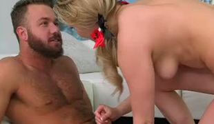 XXX Mia Malkova is great at sexual connection coupled with she certainly enjoys getting facet fucked