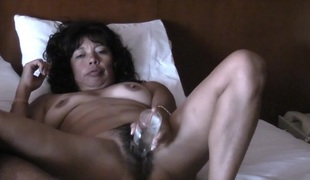 ASIAN Wed MASTURBATES AND RIDING