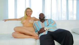 Utterly barren light-complexioned blow one's top Kagney Linn Karter here astonishing huge tits shows is contiguous to Lexington Steele not susceptible rub-down the couch. She shows elsewhere her gorgeous finances while possessions interviewed