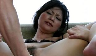 Ryo Sasaki receives pleasure from a outstanding dildo