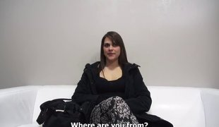 Hot long-haired Czech sweetie-pie gets on the subject of be required of her first get rid of maroon