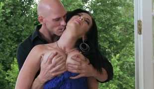 Economize called Johnny with his huge dick to fuck his sexy and hot wed Jayden