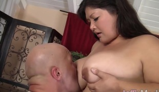 Asian plumper Kelly Shibari gets fucked