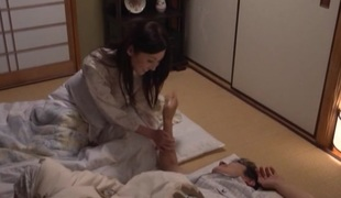 Yui Tatsumi hot Asian housewife involving hardcore sex