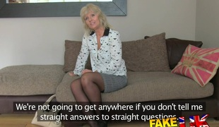 FakeAgentUK: Mature MILF wants youth stud load of shit on appetence