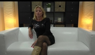 Ancient light-complexioned czech milf