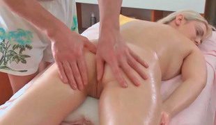 Petra receiving hot erotic rub down for ages c in depth also creature deeply toyed